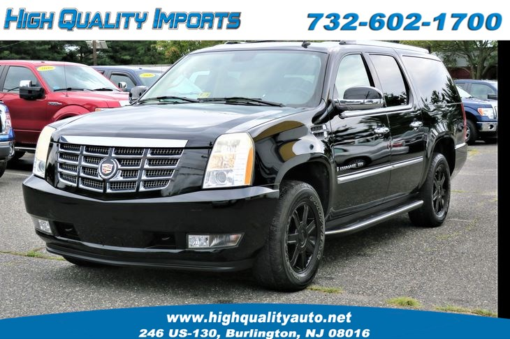 Used 2007 Cadillac Escalade Esv Luxury Gpsdvdback Up Cam In Burlington