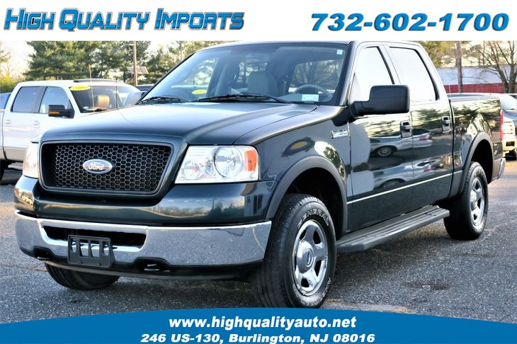 Used 2006 Ford F150 Xlt Crew Cab Low Miles In Burlington