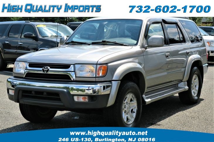 2001 Toyota 4RUNNER SR5 LOWEST MILEAGE IN USA