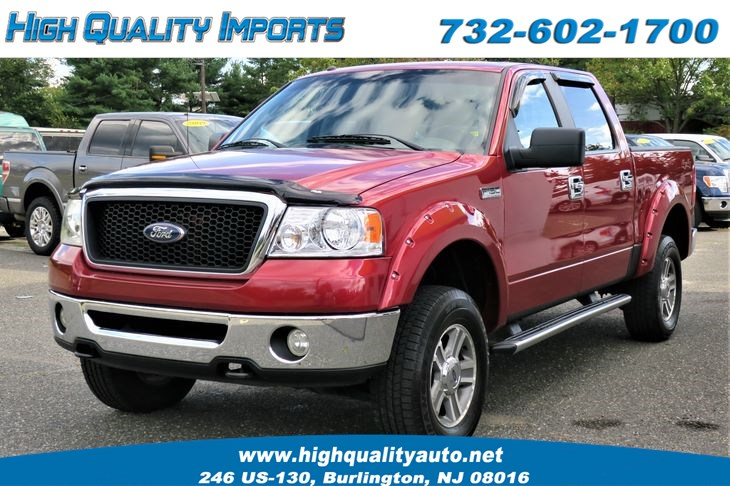 2007 Ford F150 1-OWNER CREW CAB