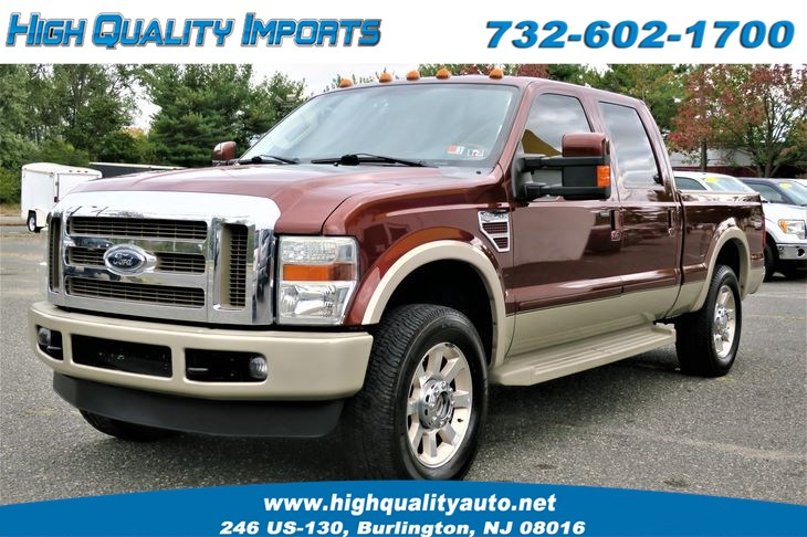 2008 Ford F250 KING RANCH LARIAT NO CAT