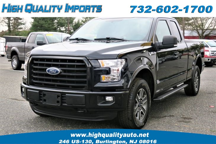 2015 Ford F150 FX4 1-OWNER SUPERCAB