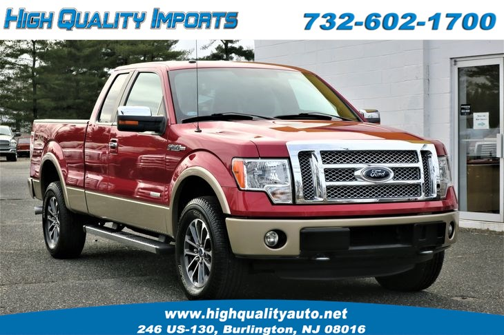 2012 Ford F150 LARIAT 1-OWNER LOW MILES