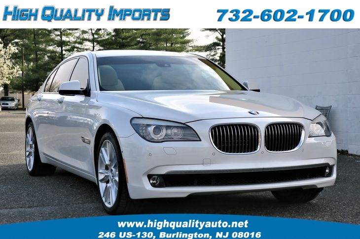 2012 BMW 750 LXI INDIVIDUAL PKG 1 OF A KIND