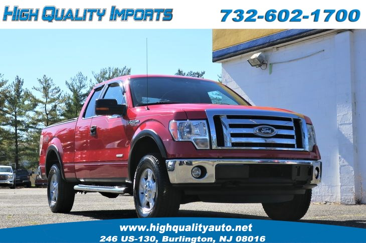 2012 Ford F150 FX4 LOW MILES SUPERCAB