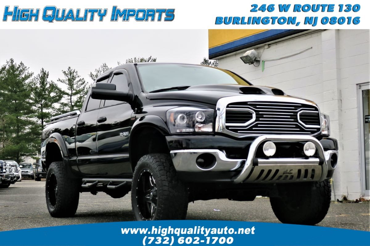 Sold 2008 Dodge Ram 1500 Slt Lifted Custom In Burlington
