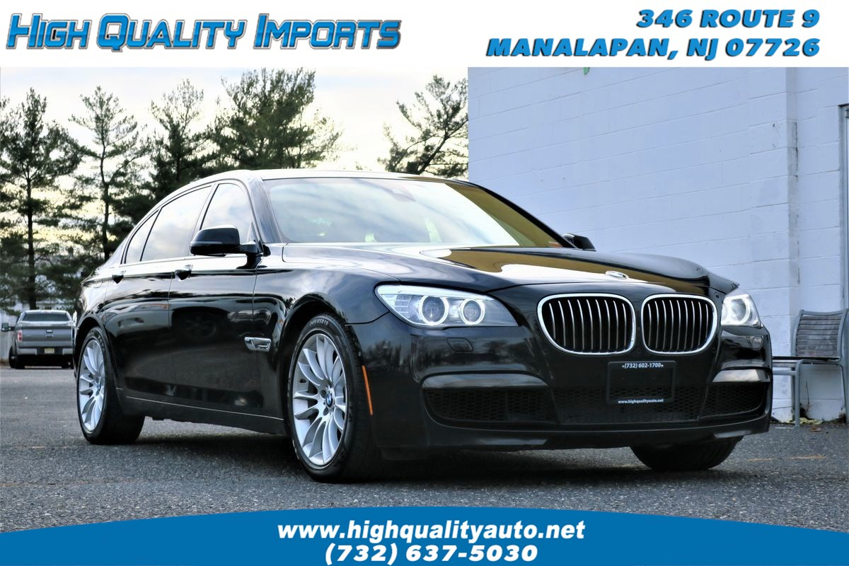 2014 BMW 740 LXI M-SPORT FULLY LOADED
