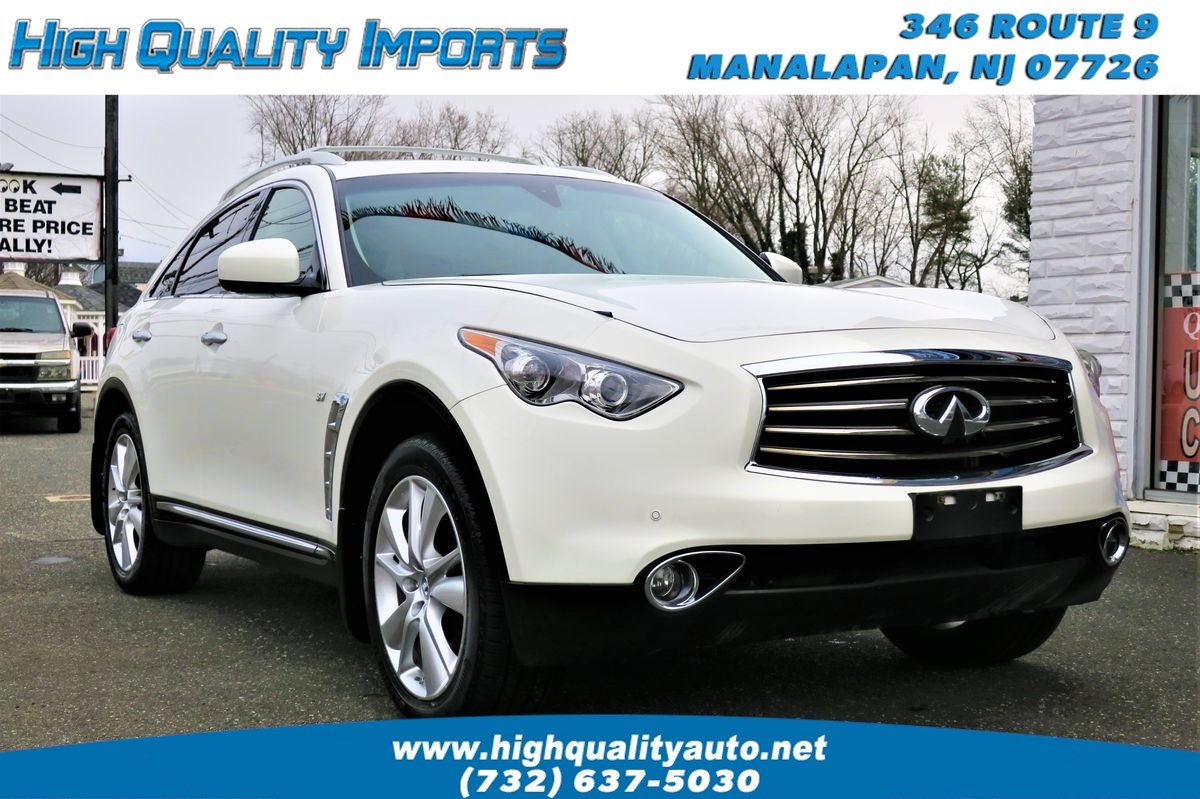 2014 INFINITI QX70 FULLY LOADED WITH ALL OPTIONS