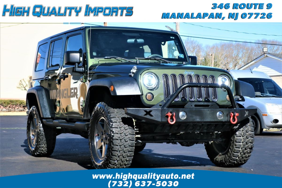 2009 Jeep WRANGLER UNLIMI LIFTED+CUSTOM LIGHTS & BUMPERS