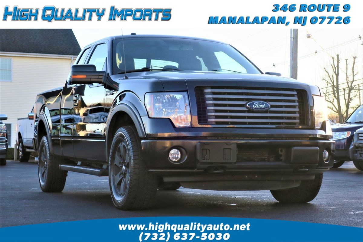 2012 Ford F150 FX4 SUPERCAB