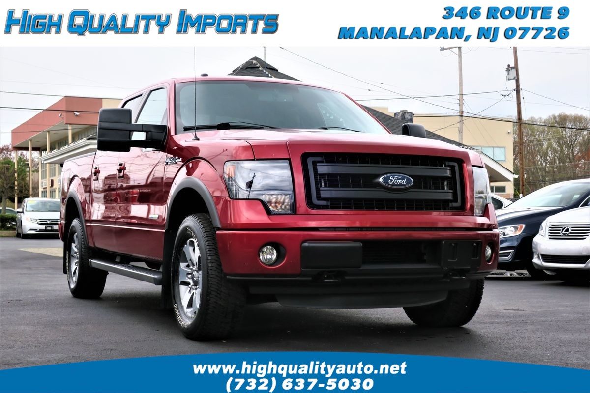 2013 Ford F150 FX4 SUPERCREW