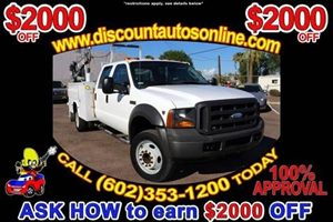 View 2005 Ford F450 SD Crew Cab Utility Bed