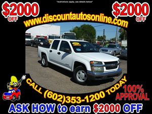 View 2005 Chevrolet Colorado Crew Cab