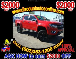 View 2016 Chevrolet Colorado Lifted 4WD 4X4 Crew Cab