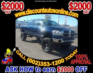 View 2008 Dodge Ram 2500 Crew Cab Lifted 4WD 4X4