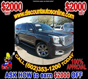 View 2016 GMC Yukon XL 4WD 4X4 Leather SUV