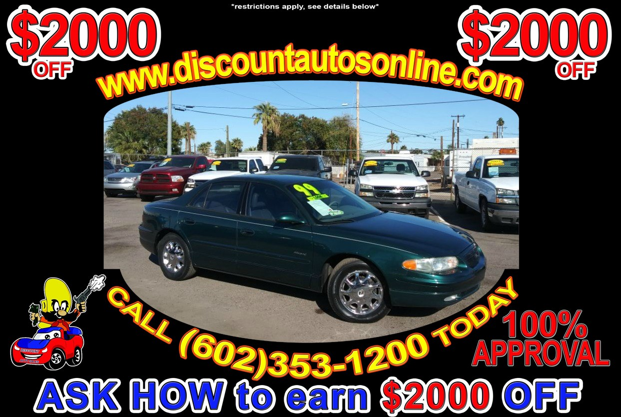 sold 1999 buick regal supercharged gs in phoenix discount auto sales