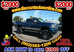View 2015 GMC Sierra 2500HD Crew Cab 4WD 4X4 Leather