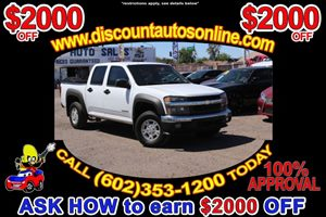 View 2005 Chevrolet Colorado 4WD 4X4 CrewCab