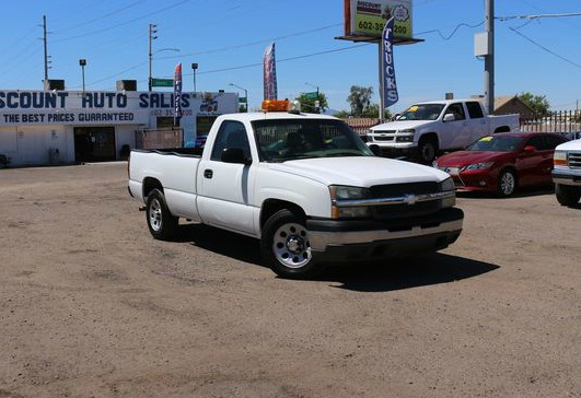 2005 Chevrolet Silverado 1500 Regular Cab >> 2005 Chevrolet Silverado 1500 Work Truck Discount Auto Sales