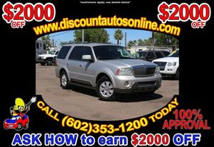 View 2003 Lincoln Navigator SUV Leather