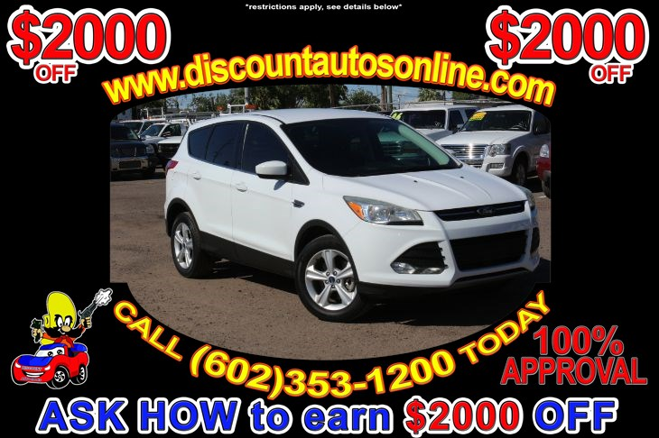 2014 Ford Escape SUV 4WD 4X4 SE
