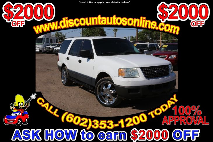 2004 Ford Expedition SUV Leather XLS