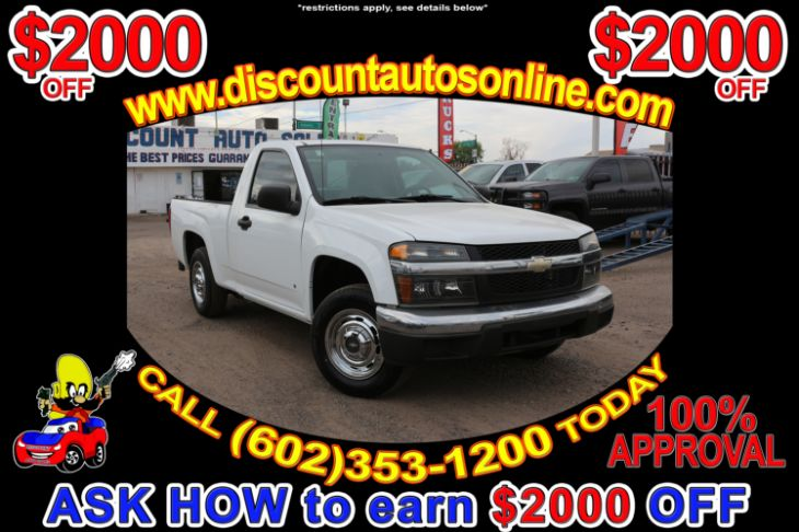 2008 Chevrolet Colorado Work Truck W/TommyGate Lift