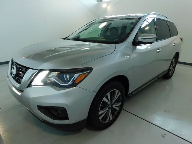 Used 2017 Nissan Pathfinder Sl In Apex