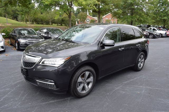 Used Acura MDX L AWD In Apex - Acura car prices