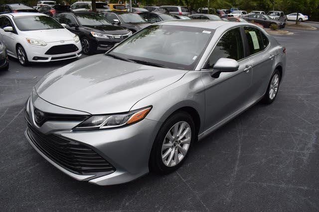 Sold 2018 Toyota Camry Le In Apex