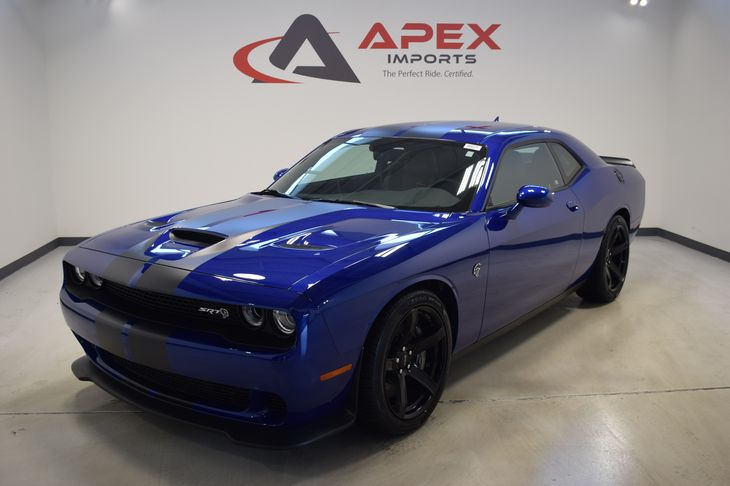 Dodge Challenger Hellcat Blue >> Sold 2018 Dodge Challenger Srt Hellcat In Apex
