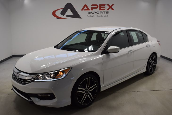 Honda Accord Sport Special Edition >> Sold 2017 Honda Accord Sport Special Edition In Apex