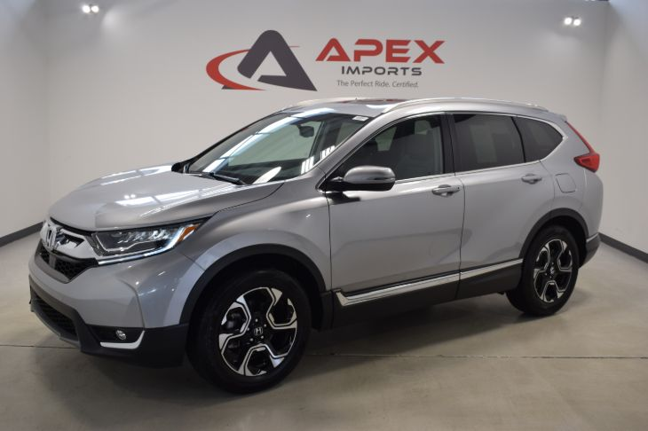used 2017 honda cr v touring in apex rh apeximports com