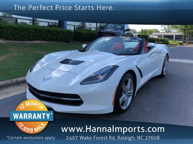 2016 Chevrolet Corvette Stingray 1LT