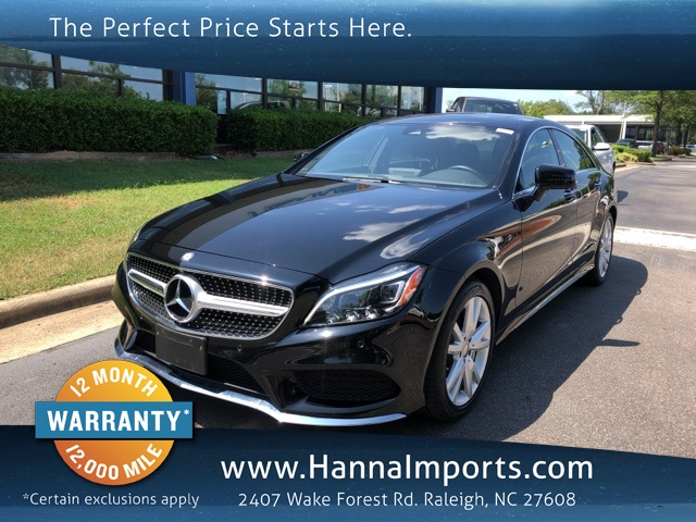 2016 Mercedes-Benz CLS CLS 550 4MATIC®
