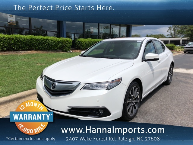 2016 Acura TLX 3.5L V6 w/Advance Package
