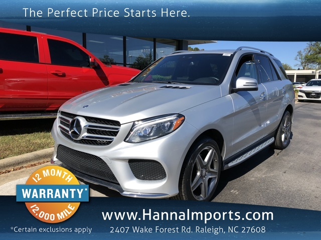 2016 Mercedes-Benz GLE GLE 400 4MATIC®