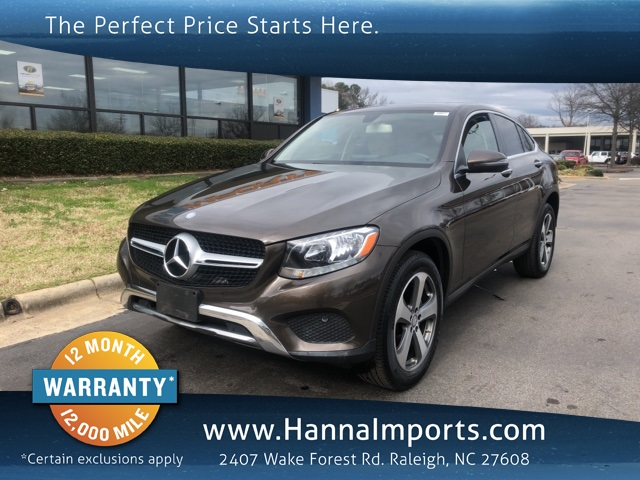 2017 Mercedes-Benz GLC GLC 300 Coupe 4MATIC®