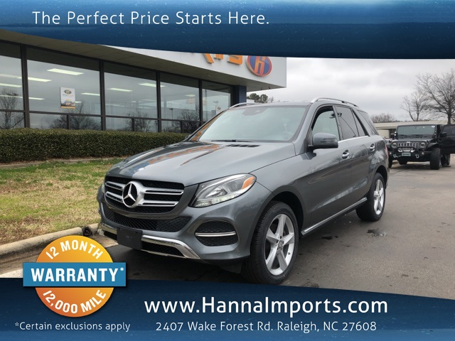 2017 Mercedes-Benz GLE GLE 350 4MATIC®