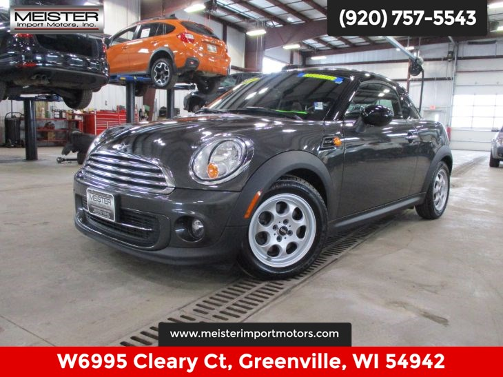 Sold 2013 Mini Cooper Coupe In Greenville
