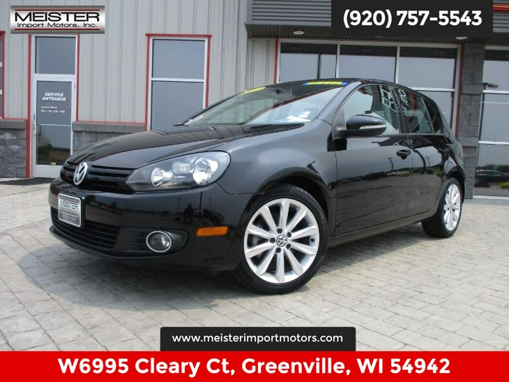 2013 Volkswagen Golf TDI w/Sunroof & Nav