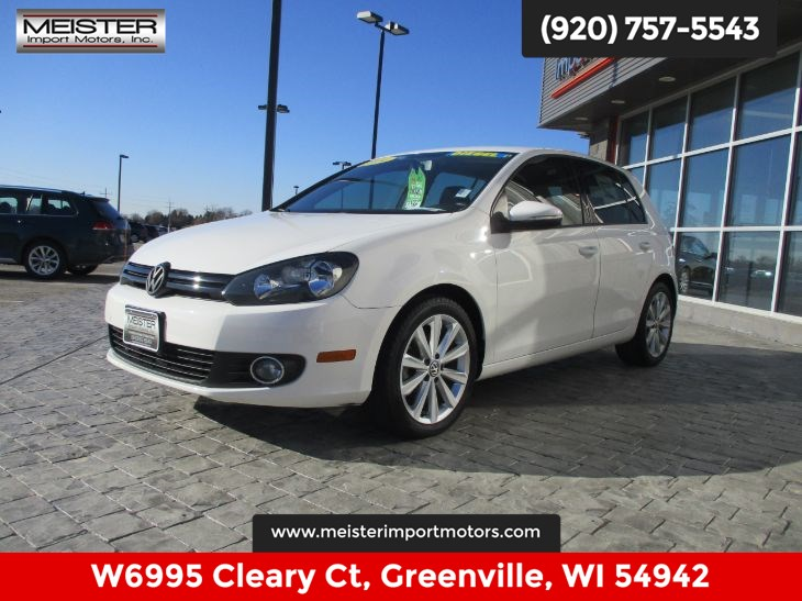 2014 Volkswagen Golf TDI w/Sunroof & Nav
