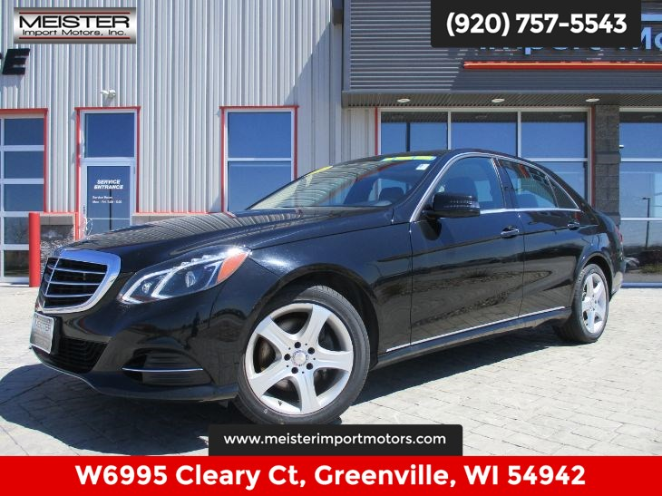 2014 Mercedes-Benz E 350 4MATIC Luxury Sedan