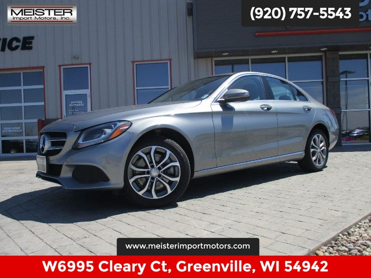 2016 Mercedes-Benz C 300 4MATIC Luxury Sedan