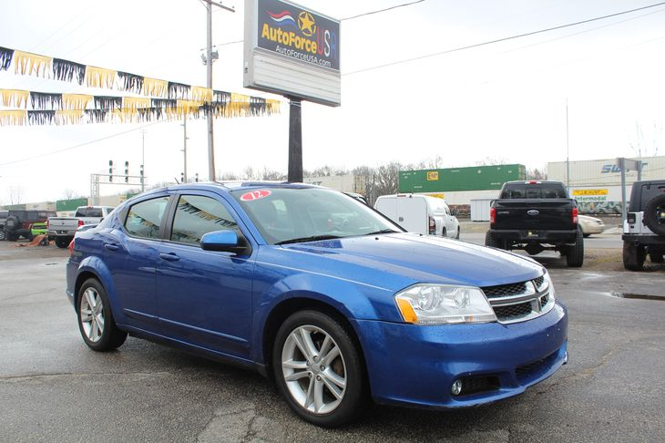 Sold 2012 Dodge Avenger SXT Plus in Elkhart