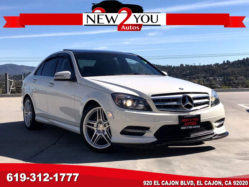 2011 Mercedes-Benz C 300 Sport W/NAVI/HEATED SEATS/PANO ROOF