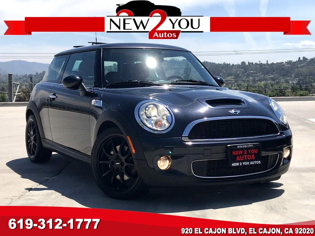2008 MINI Cooper S LOW MILES/PANO ROOF/RED LEATHER