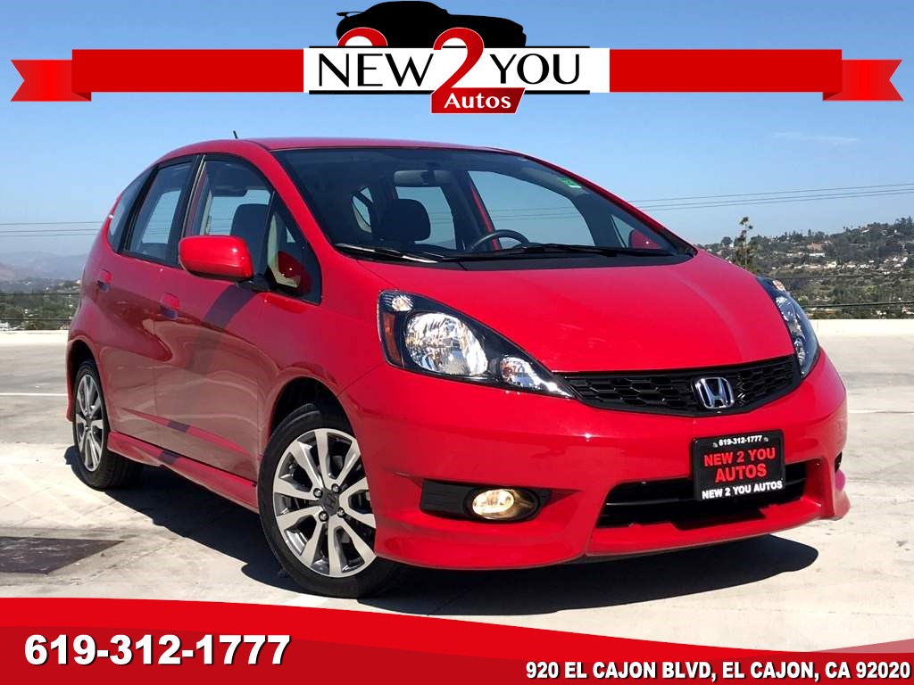 2012 Honda Fit Sport W/SUPER LOW MILES!!!!