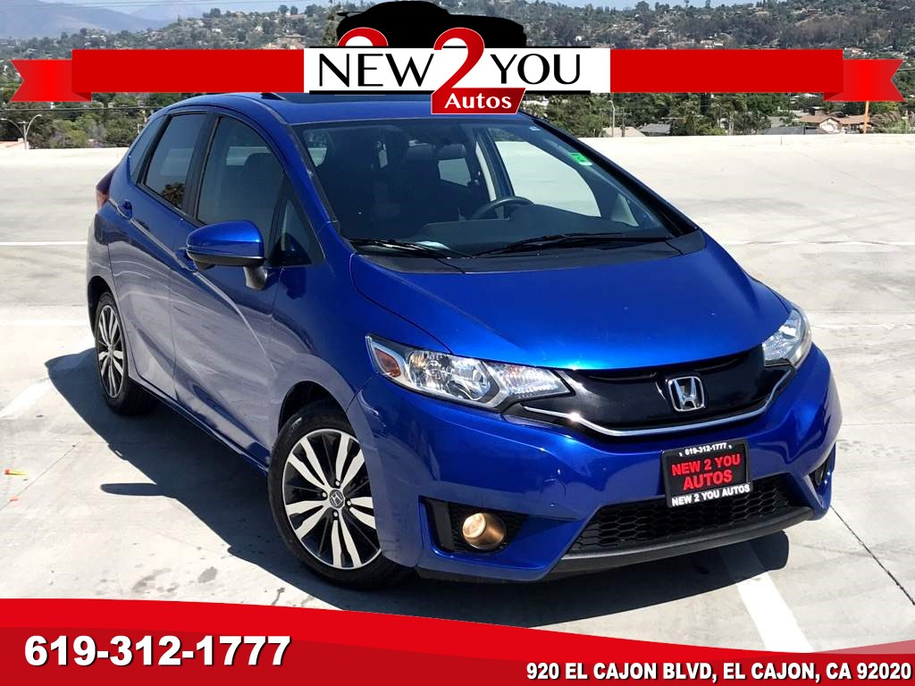 2015 Honda Fit EX 6 SPEED GAS SAVER W/BACKUP CAMERA!!!